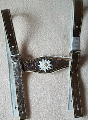 Leather Costume Suspenders Children Suspenders for Leather Pants