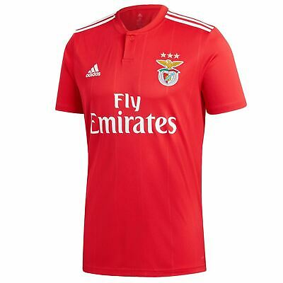 adidas Benfica Home Jersey 2018 2019 Mens Red/White Football Soccer Shirt Top