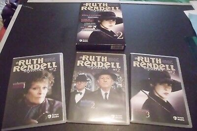 The Ruth Rendell Mysteries - Set 2 (DVD -3- Disc Set)