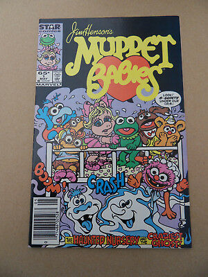 The Muppets Babies 1 . Marvel 1985 . HOT ! VF - minus