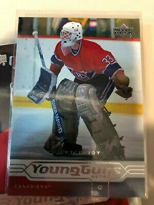 2004-05 Upper Deck Young Guns Card PATRICK ROY Montreal Canadiens 188
