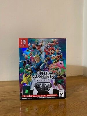 Super Smash Bros Ultimate Special Edition - Nintendo Switch - Brand New In Hand
