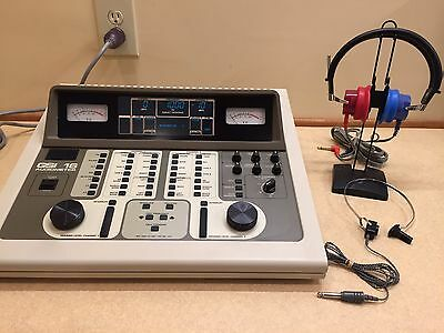 GSI 16, 2 Channel Audiometer with Current Calibration Certificate & New Display