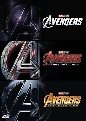 Avengers 1-3 (Assemble/Age of Ultron/Infinity War) DVD NUOVO