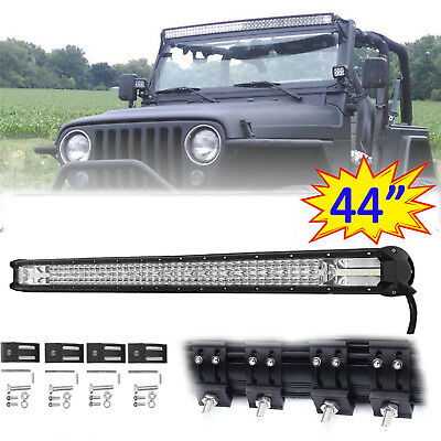 44 INCH 880W CREE LED WORK LIGHT BAR SPOT FLOOD TRUCK CAR SUV OFF ROAD for JEEP