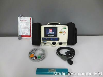 Physio Control Lifepak 20 Biphasic 3 Lead AED Pacing ALS