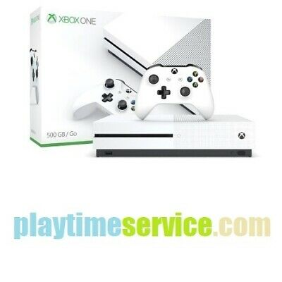 Microsoft Xbox One S 2TB Console with Controller (White)