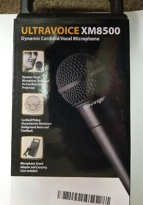 Behringer Ultravoice XM8500 Dynamic Vocal Microphone Cardioid XM-8500