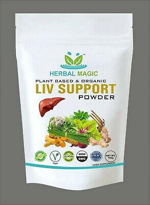 100% Pure Natural& Pesticide Free Digest Support Powder Liver Digestion Immunity