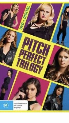 Pitch Perfect Trilogy BRAND NEW R4 DVD 1 2 &3