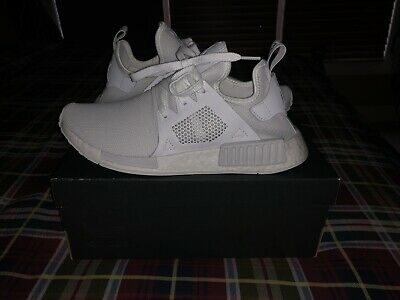 2365dc6f53e3e Adidas Originals NMD XR1 Triple White Shoes Men s Size 9 Running Sneakers  BY9922