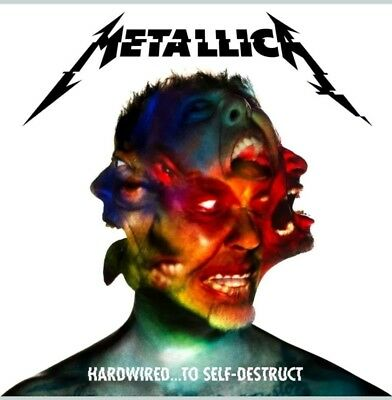 "Metallica album ""Hardwired… To Self-Destruct"" - 2CD - NEW - SEALED - NUOVO - BOX"