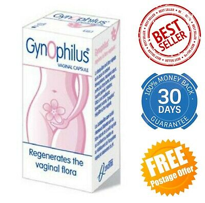 Gynophilus®  Vaginal capsules 14 restore the vaginal flora balance 100% natural
