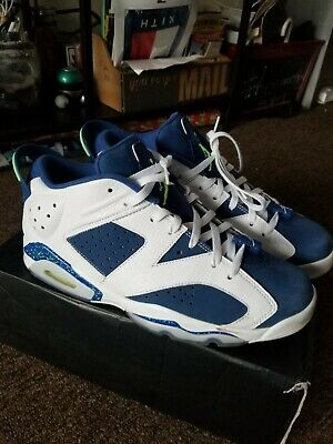 dbacf1ac8f15b4 Nike Air Jordan 6 Retro Low Seahawks Men 304401 106 White Ghost Green Size  11