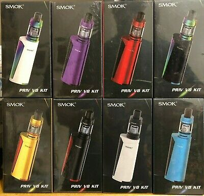 Smok0 Priv V8 60W 18650 Style Battery And Tfv8 Baby Authentic Start0 Kit0 New