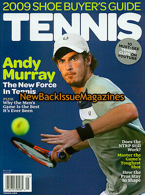 Tennis 5/09,Andy Murray,Rafa Nadal,Roger Federer,Stan Smith,May 2009,NEW