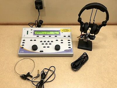 Amplivox 270 Diagnostic Audiometer, **NEW!!**  2-Year Warranty