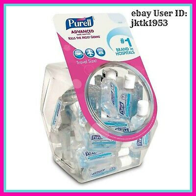 Purell Advanced Hand Sanitizer Gel 1 OZ Travel Size Backpacking/Camping 36 PACK