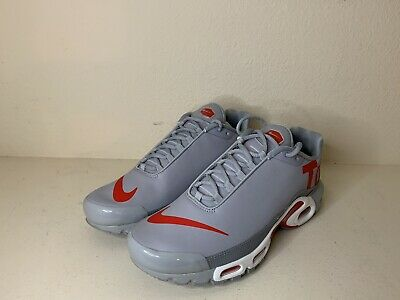 f4705e3816f3 NEW MEN S SZ 10 Nike Air Max Plus TN SE Big Logo Leather  Speed Red ...