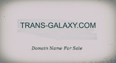 domain name for sale TRANS-GALAXY.COM