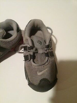 a6051821660 NIKE SHOX TODDLER Baby Boys Infant Size 6 C Athletic Shoes White ...