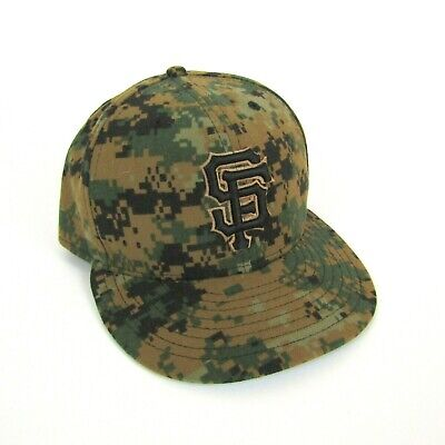 promo code 8a9bb fc5b9 New Era SF Giants 59Fifty Authentic Collection MLB Fitted Hat Digi Camo 7  7 8