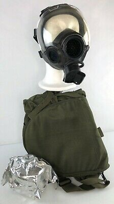 MSA Millennium Riot Control Respirator /Gas Mask + Bag Outsert Filter 10051286 S