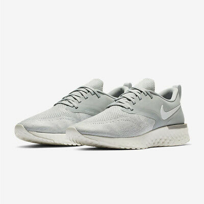 49ec918beb60 NIKE Odyssey React Flyknit 2 AH1015-001 Grey   White New Mens Running Shoes