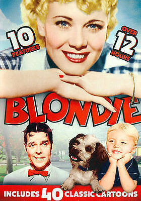 Blondie: 10 Features (DVD, 2014, 4-Disc Set) BRAND NEW