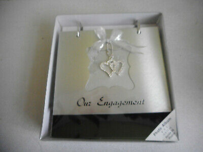 Photo Album Stand Up - Flip Over My Engagement 36 Photos 10X15Cm New In Box