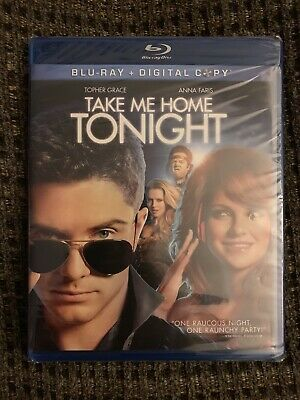 Take Me Home Tonight 2011 Blu-Ray Topher Grace Anna Faris Brand New Sealed