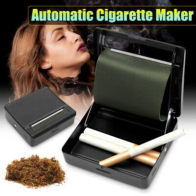 Automatic Rolling Roll Up Machine Tin Case Roller Cigarette Smoking Tobacco