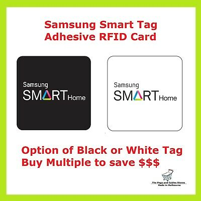 SAMSUNG SMART TAG ADHESIVE RFID CARD Attach With Mobile Phone & Car