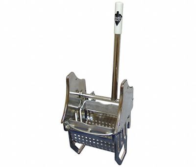 Tough Guy 3U487 Down Press Mop Wringer, Silver, Stainless Steel, 8 to 16 oz.