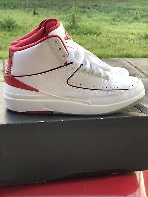 JORDAN JORDAN AIR Retro Retro 2 2 WhiteRed AIR CtQrsdh