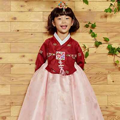 7c1d1f6f1 Hanbok Korean Girl Tradition Clothes Dress 1st Birthday New Year Party Che  Bin