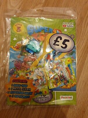 Superzings Series 3 Starter Pack (Inc Metal Slider, Mask)