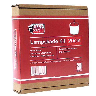 Lampshade Kit 20cm By Need Craft  Professional  Sewing Craft DIY