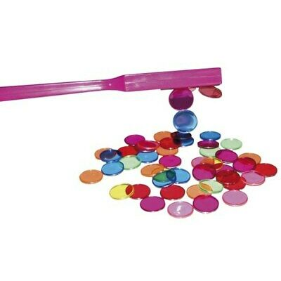 Magnetic Wand Plus 100 chips Science Teacher Resource Kids Toy Learning Strong