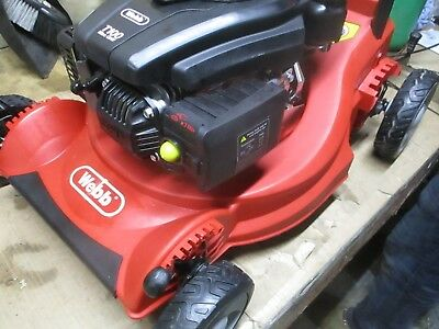 """WEBB 16/"""" S//P  ROTARY LAWN MOWER WER16SP A-GRADE  NEW"""
