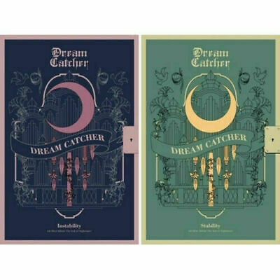 DREAM CATCHER [THE END OF NIGHTMARE] 4th Mini Album 2Ver SET+POSTER+2Buch+8Karte