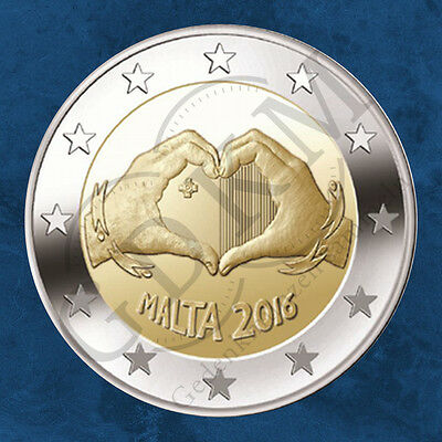 Malta - from Children with Solidarity: Love - 2 UNC on Bearing
