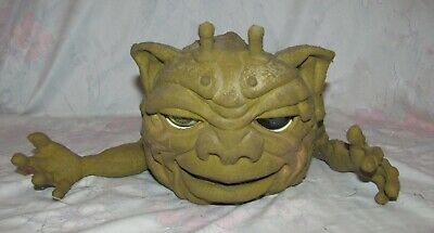 Vintage 1987 Boglin Figure Puppet Dwork larger size with tail