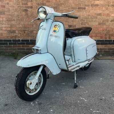 1967 Lambretta SX150 Original Spring Grey Paint. UK Registered. FREE DELIVERY*