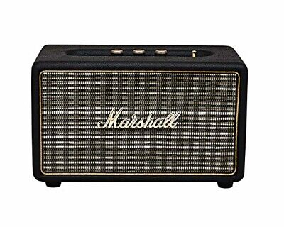 Top Quality Marshall 04091802 Acton Wireless Bluetooth Speaker Black Genuine