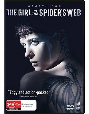 The Girl In The Spider's Web : NEW DVD