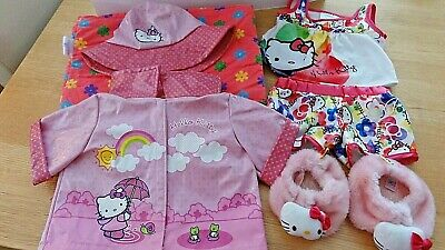 Build a Bear Hello Kitty Clothes Outfits Bundle