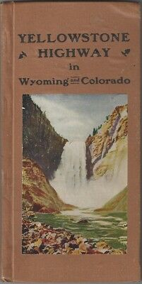 Gus Holm / Official Route Book of the Yellowstone Highway Association in 1916
