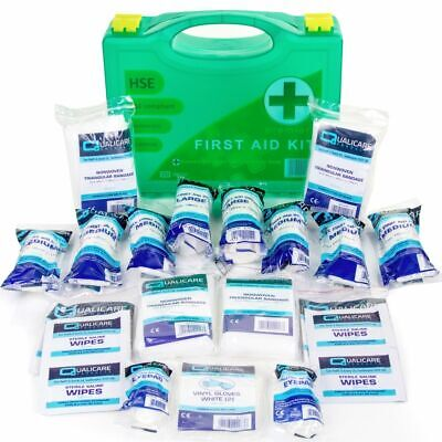 1-10 Person Premium HSE Compliant First Aid Workplace Kit CE Marked Long Expiry
