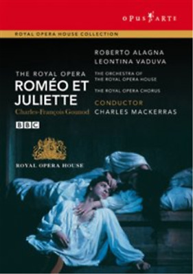 Romeo Et Juliette: The Royal Opera House (Mackerras) DVD NUEVO